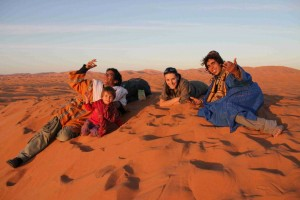 Agata_podczas_podróży_na_Saharze